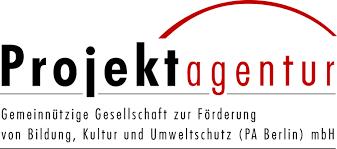 Das Logo von Projektagentur, gemeinnützige Gesellschaft zur Förderung von Bildung, Kultur und Umweltschutz (PA) mbH.