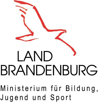Das Logo vom Ministerium für Bildung, Jugend und Sport des Landes Brandenburg