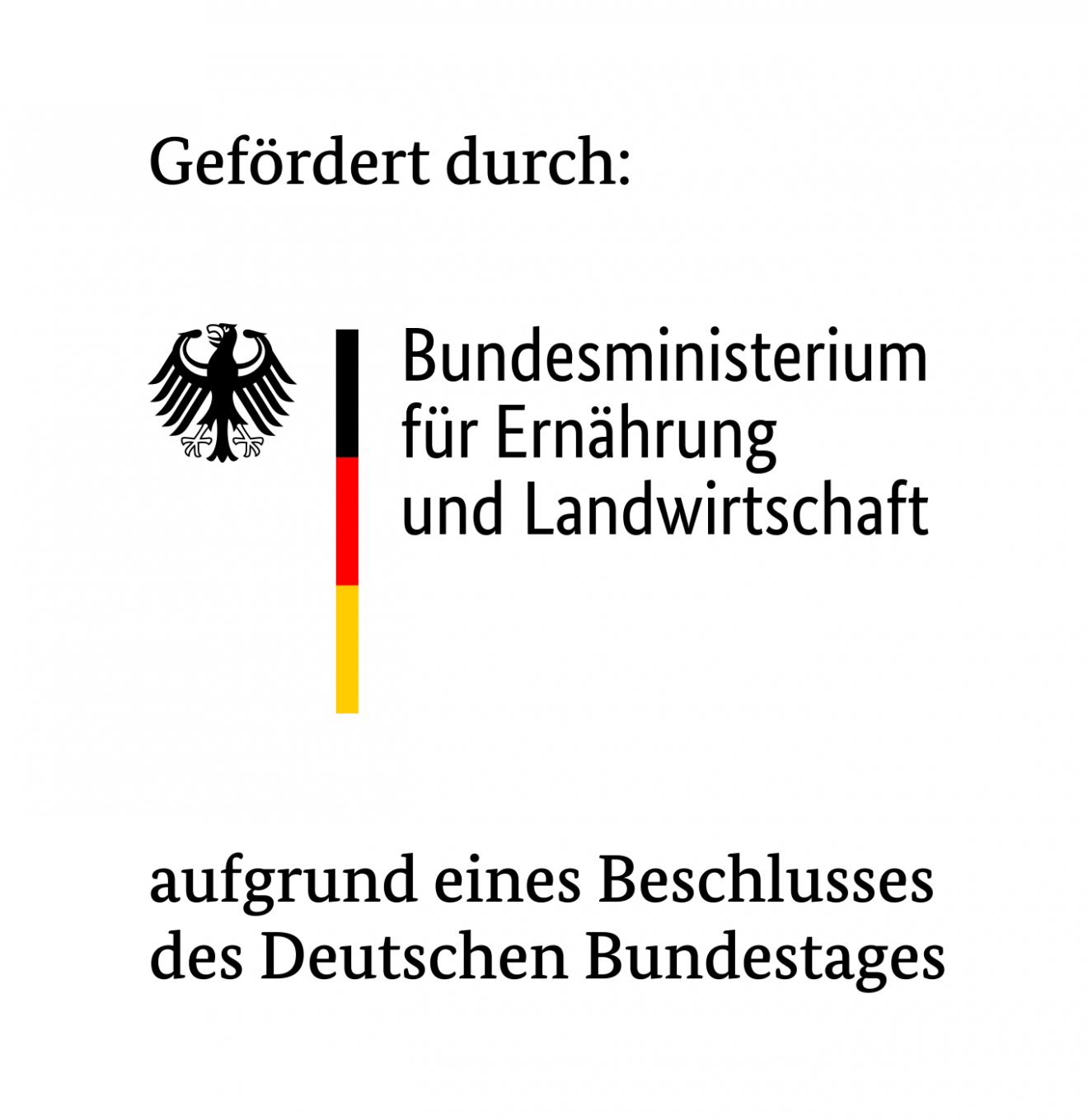 Das Logo vom Bundesministerium für Ernährung und Landwirtschaft